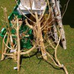 自然の素材 グリーンフェアのアイテム 枝付き丸太その2