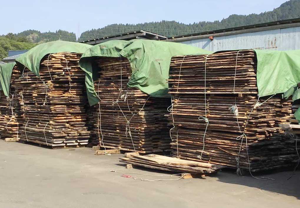 乾燥板・26木種・5000枚
